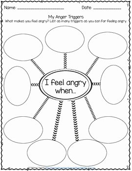 Anger Management Worksheet for Teenagers Beautiful Anger Management Worksheets by Pathway 2 Success
