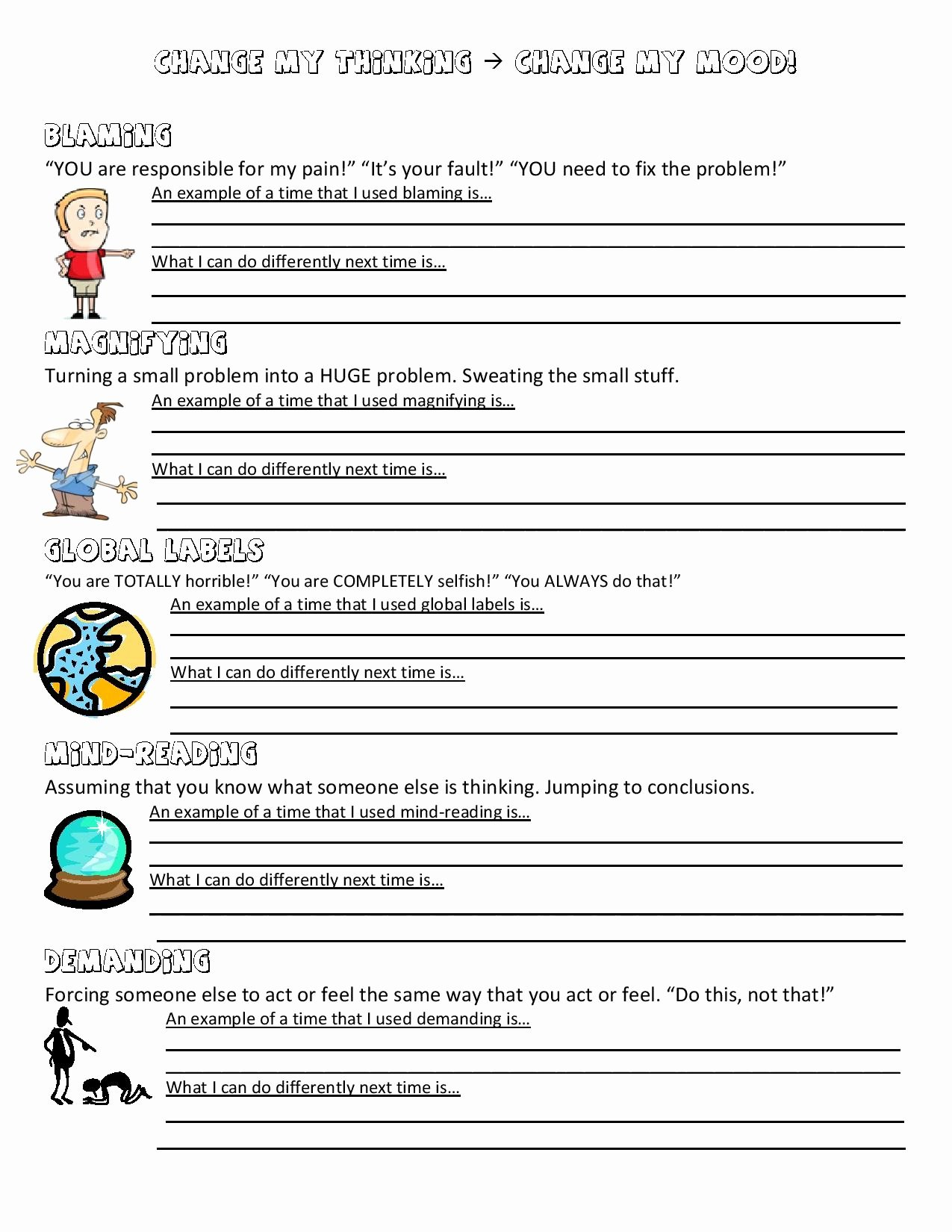 Anger Management Worksheet for Teenagers Fresh Anger Management Worksheet