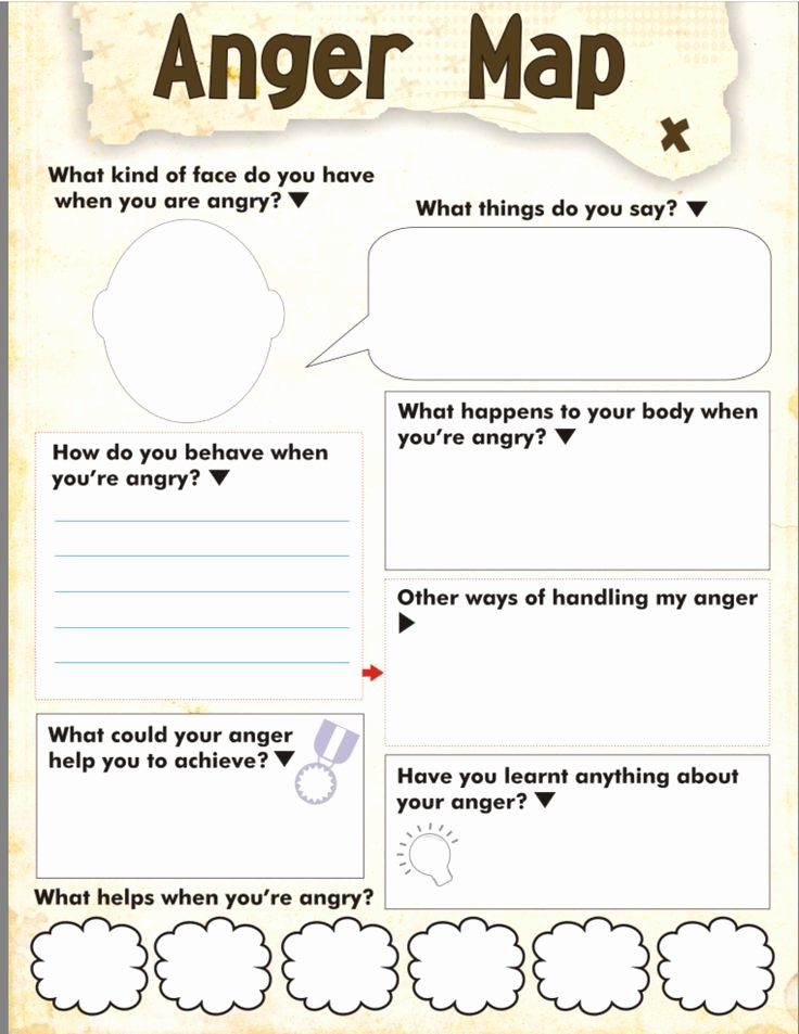 Anger Management Worksheet for Teenagers Unique Best 25 Anger Management Activities Ideas On Pinterest