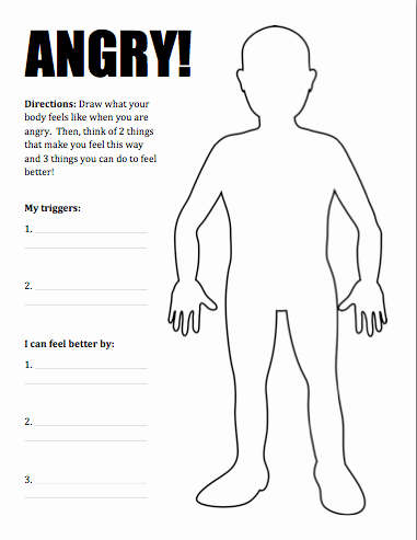 Anger Management Worksheet for Teenagers Unique New Product Dealing with Anger Activity Pack