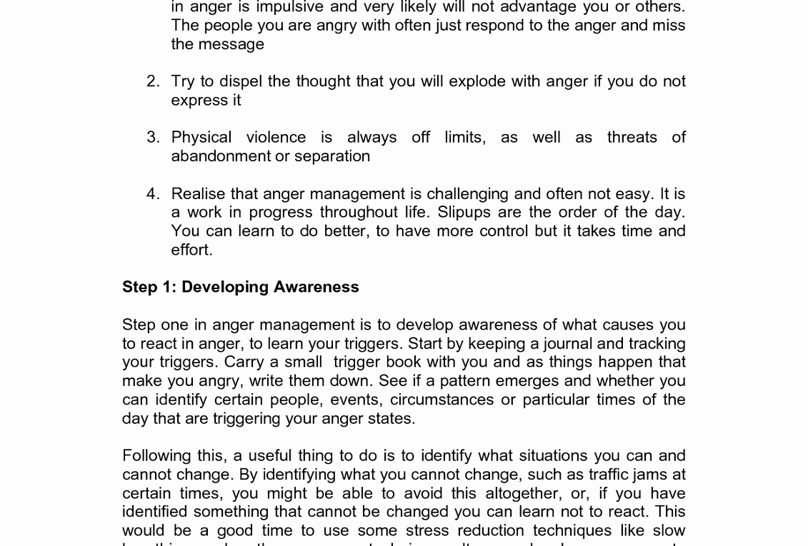 Anger Management Worksheet for Teens New Anger Management Worksheet for Teenagers Management