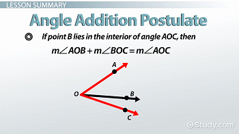 Angle Addition Postulate Worksheet Lovely the Angle Addition Postulate