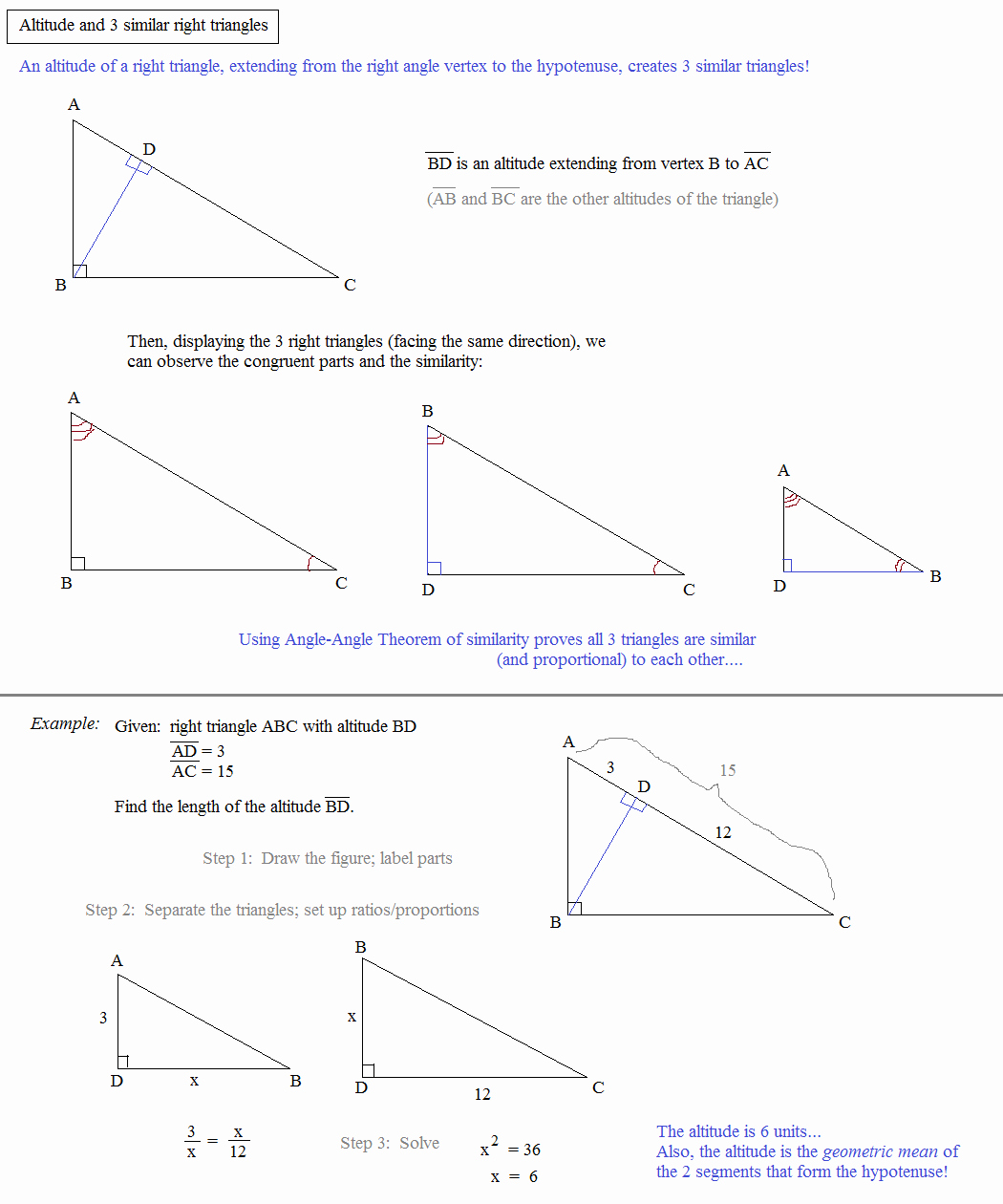 Angle Bisector theorem Worksheet Awesome Math Plane Similar Triangles & Ratios