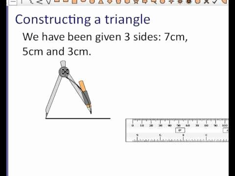 Angle Bisector theorem Worksheet Beautiful Constructing A Triangle Given Three Sides