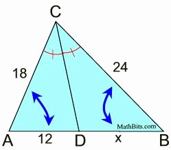 Angle Bisector theorem Worksheet Luxury Angle Bisector theorem Mathbitsnotebook Geo Ccss Math