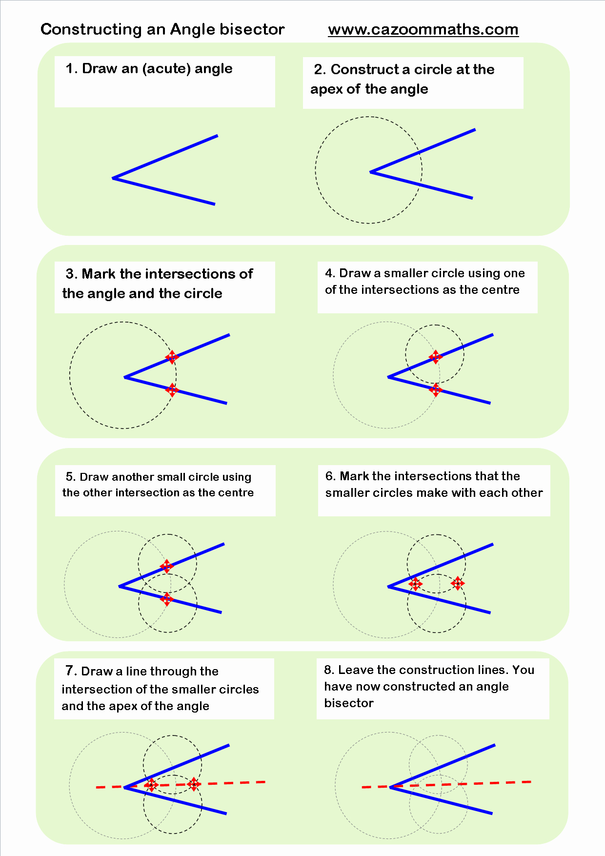 Angle Bisector theorem Worksheet New Cazoom Maths Worksheets Maths Worksheets