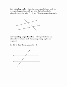 50 Angle Pair Relationships Worksheet | Chessmuseum ...