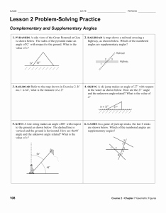 Angle Pair Relationships Worksheet Fresh 1 5 Angle Pair Relationships Practice Worksheet Day 1 Jnt