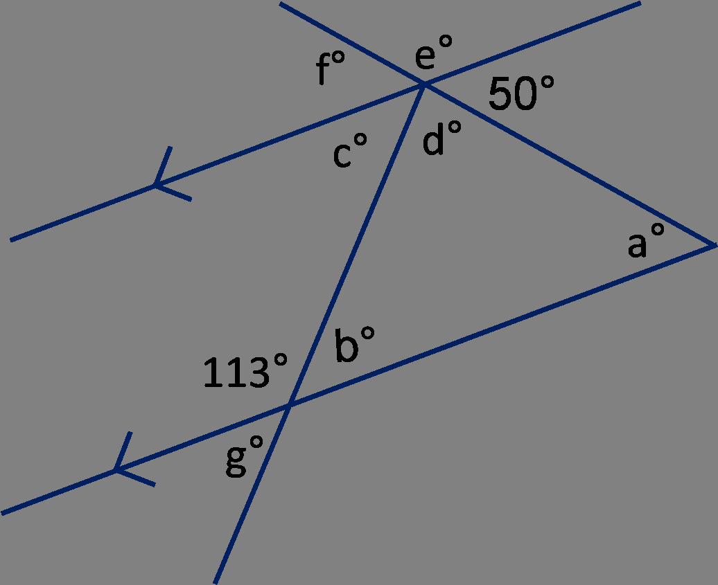 Angles and Parallel Lines Worksheet Best Of Geometry Angles In Triangles and On Parallel Lines