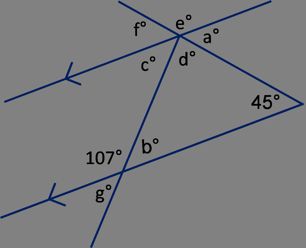 Angles and Parallel Lines Worksheet Lovely Angles In Triangles and On Parallel Lines 2 Worksheet
