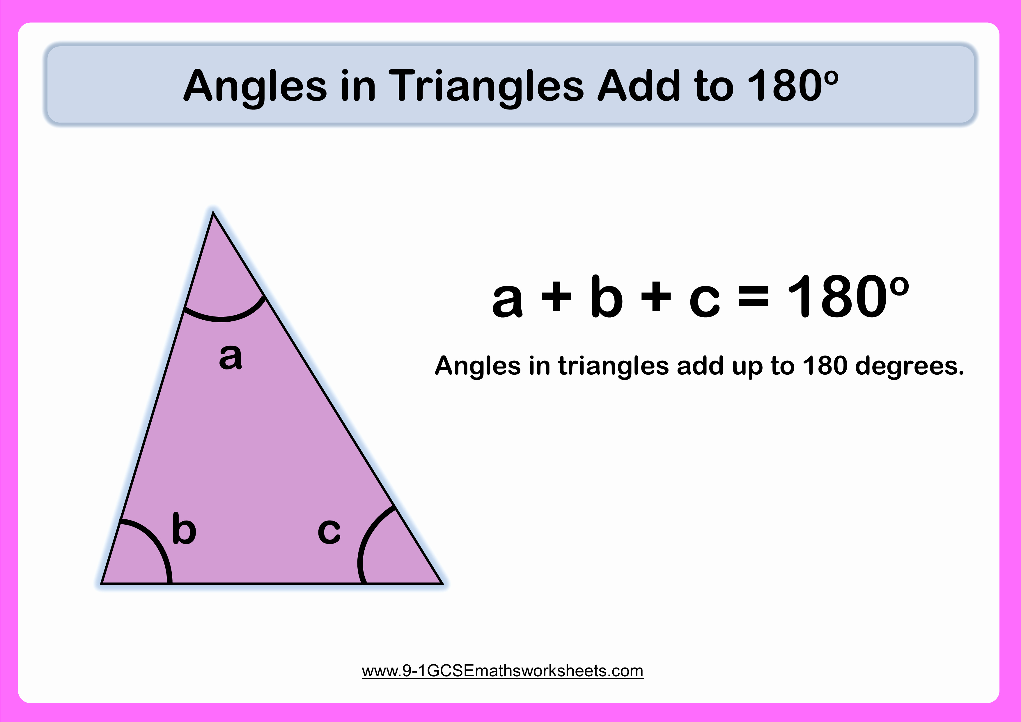 Angles In A Triangle Worksheet Elegant Angles In Triangles Worksheets
