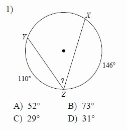 Angles In Circles Worksheet Best Of Circles Inscribed Angles Worksheets