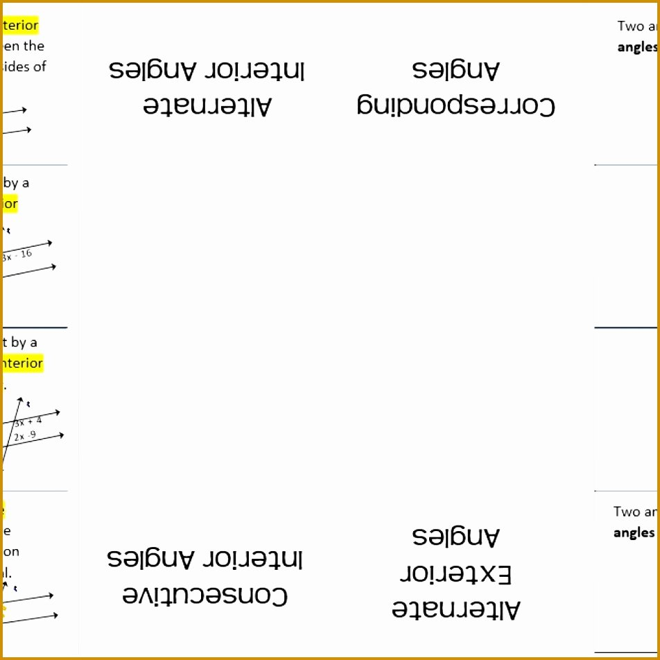 Angles In Transversal Worksheet Answers Luxury 3 Parallel Lines and Transversals Worksheet