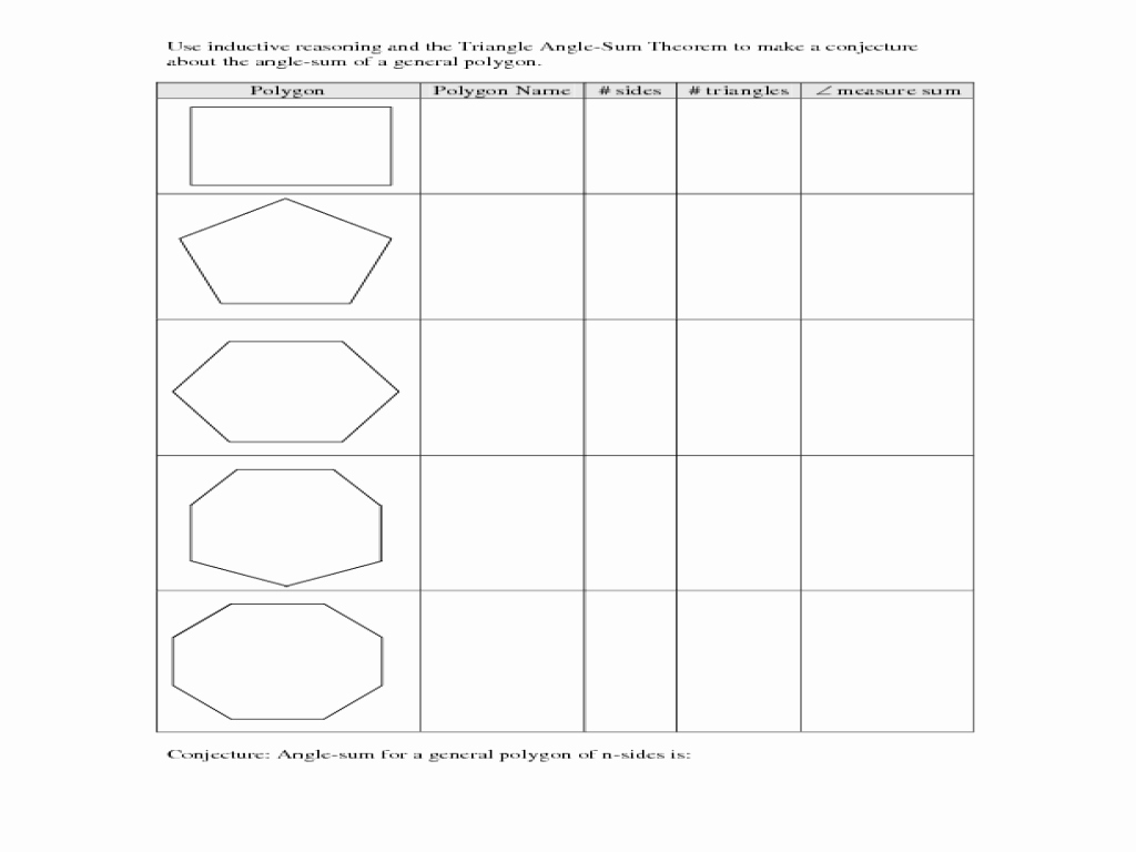 Angles Of Polygon Worksheet Luxury Worksheet Interior Angles A Polygon Worksheet Grass