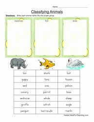 Animal Classification Worksheet Pdf Inspirational Pin On Science Animal Groupings