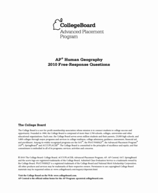 Ap Human Geography Worksheet Answers Inspirational Human Geography Lesson Plans & Worksheets