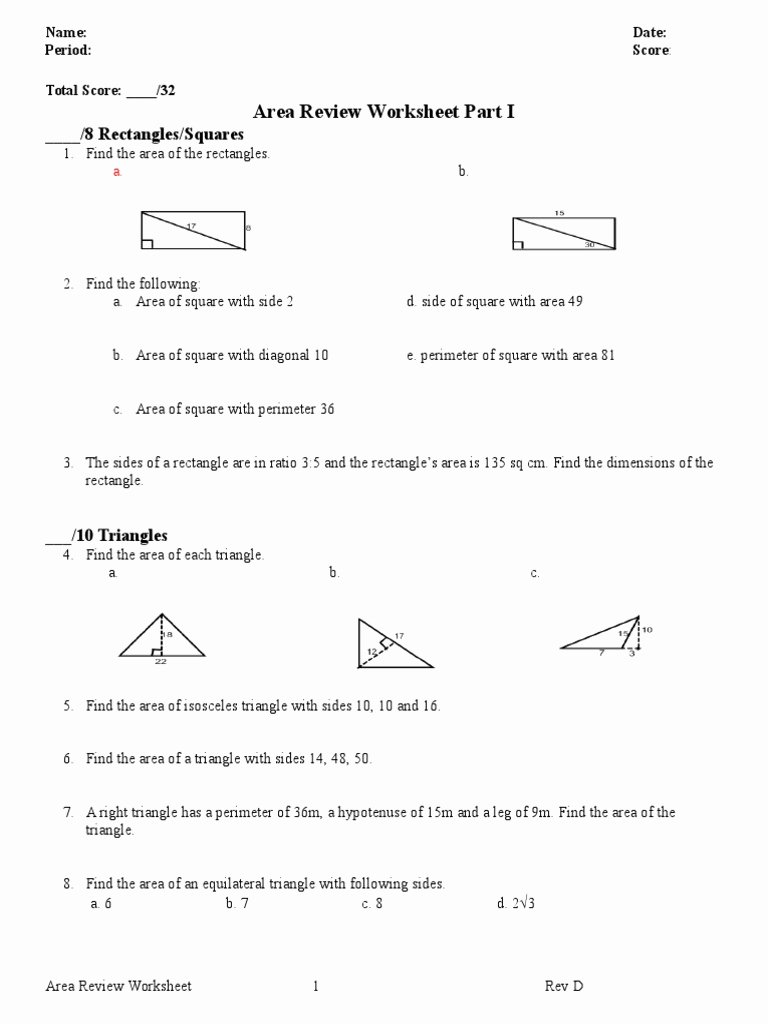 Area Of A Triangle Worksheet Beautiful 4 6 isosceles and Equilateral Triangles Worksheet Answer