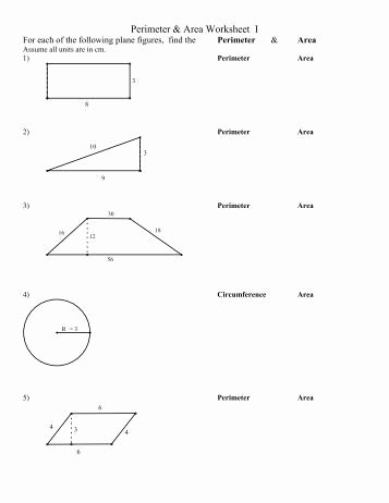 Area Of Composite Figures Worksheet Beautiful Perimeter and area Of Posite Figures Worksheet 2011