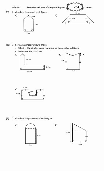 Area Of Composite Figures Worksheet New Worksheet On Similar Figures with Multiple Choice