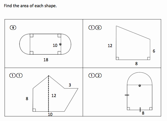 Area Of Irregular Shapes Worksheet Elegant Teaching High School Math High School Geometry area