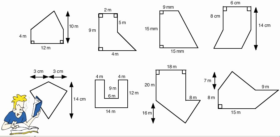 Area Of Irregular Shapes Worksheet Fresh Math Mr Kwon S Grade 7 Class St Paschal Baylon School
