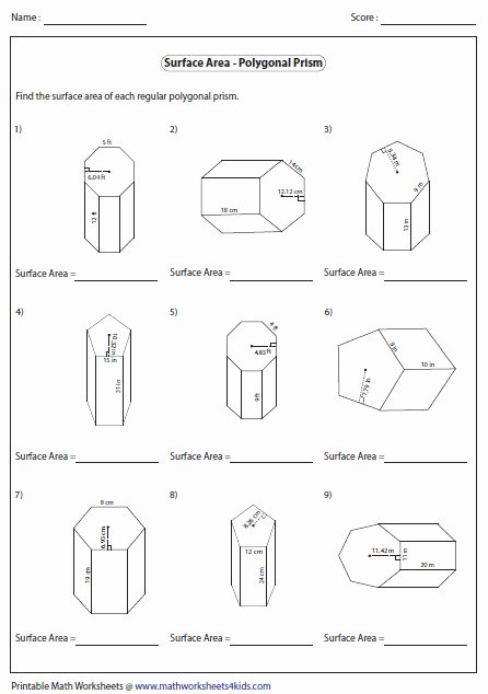 Area Of Regular Polygons Worksheet Awesome area Regular Polygons Worksheet
