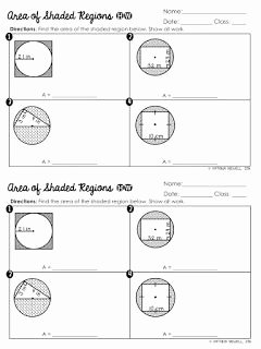 Area Of Shaded Region Worksheet Awesome 17 Best Images About 7th Grade Math On Pinterest