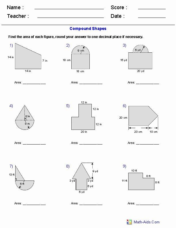 Area Of Shaded Region Worksheet Beautiful area Shaded Region Worksheet