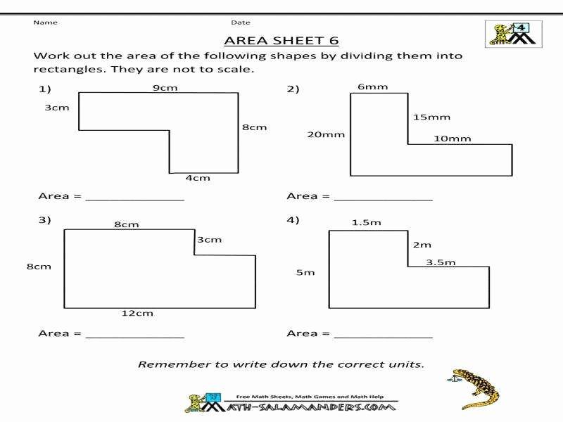 Area Of Shaded Region Worksheet Fresh area Shaded Region Worksheet