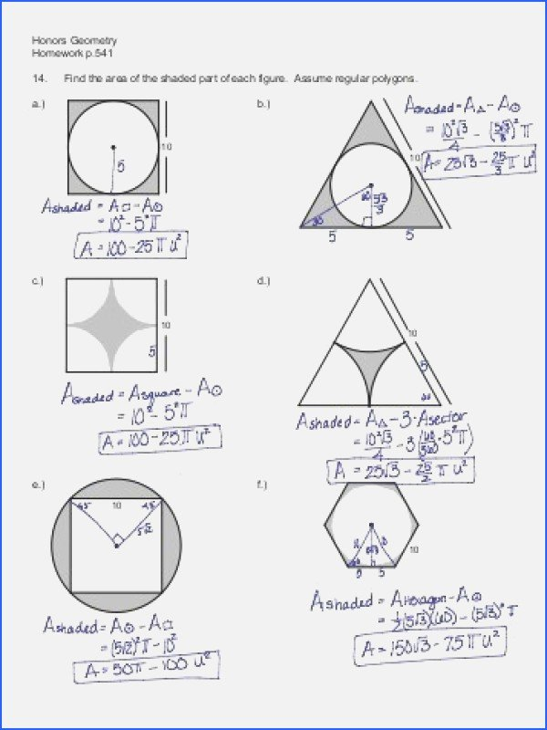 Area Of Shaded Region Worksheet New Find the area the Shaded Region Worksheet the Best