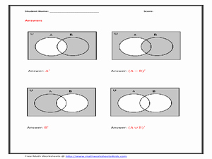 Area Of Shaded Region Worksheet New Shaded Region Lesson Plans & Worksheets Reviewed by Teachers