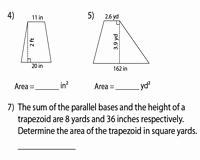 Area Of Trapezoid Worksheet Best Of area Of Trapezoids Worksheets