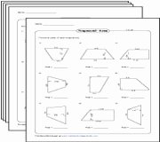 Area Of Trapezoid Worksheet Unique Trapezoid Worksheets Trapezium In Uk