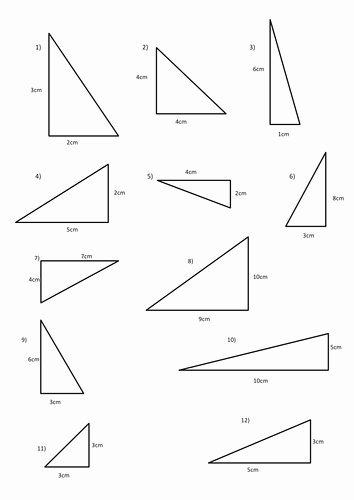 Area Of Triangles Worksheet Pdf Beautiful area Of Triangle Handout by Michaelgrange