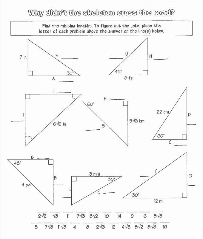 Area Of Triangles Worksheet Pdf Elegant 16 Sample High School Geometry Worksheet Templates