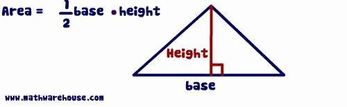 Area Of Triangles Worksheet Pdf Elegant area Of Triangle Worksheet Pdf Free Worksheet On area