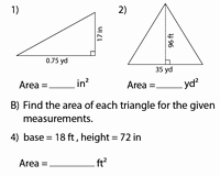 Area Of Triangles Worksheet Pdf Fresh area Of Triangles Worksheets