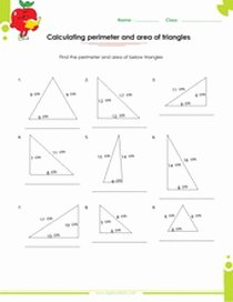Area Of Triangles Worksheet Pdf Inspirational Geometry Worksheets Pdf Download Free