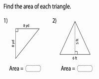 Area Of Triangles Worksheet Pdf Luxury area Of Triangles Worksheets