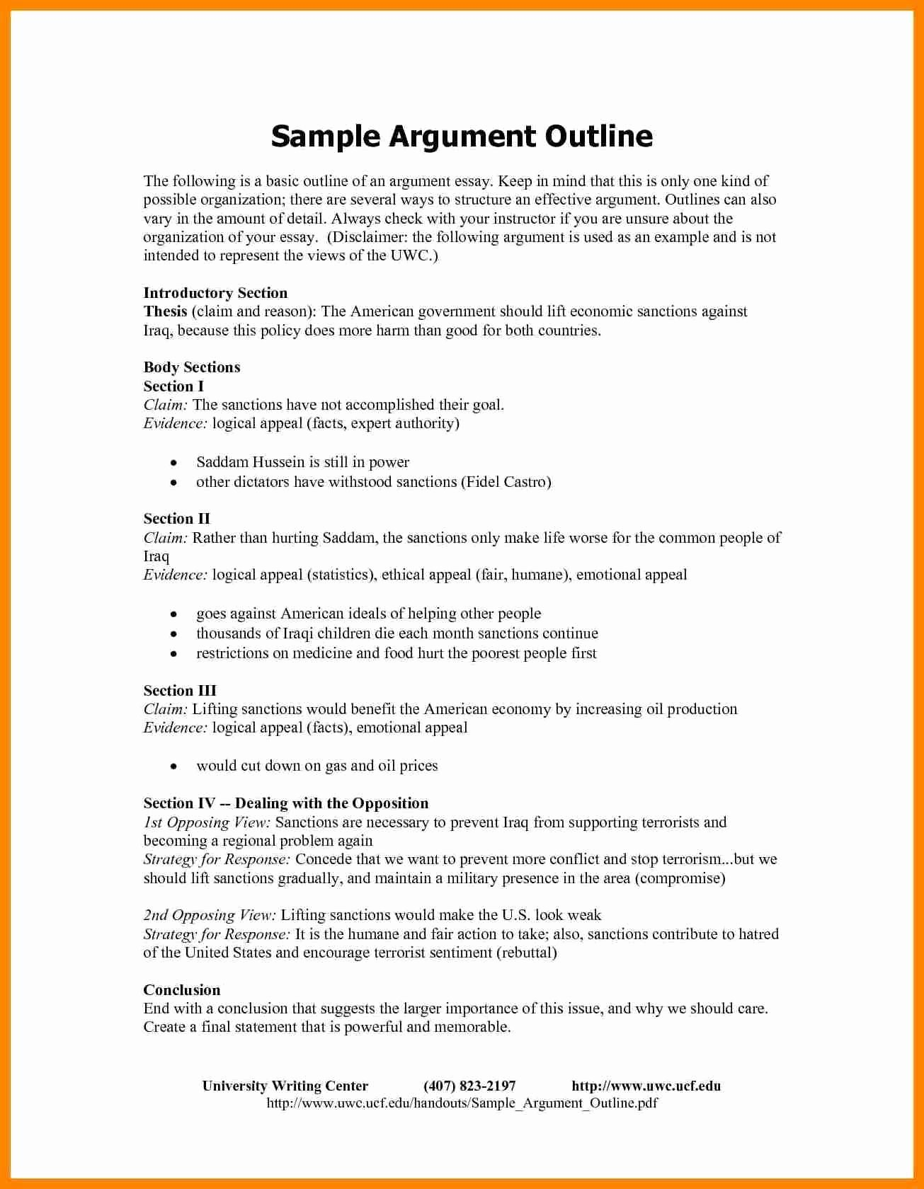 Argumentative Essay Outline Worksheet Awesome Argumentative Essay Outline Worksheet