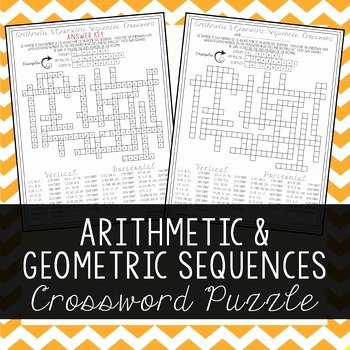 Arithmetic and Geometric Sequences Worksheet Beautiful Arithmetic & Geometric Sequences by Amazing Mathematics