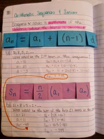 Arithmetic Sequence Worksheet Algebra 1 Inspirational Math = Love Sequences and Series Foldables & Inb Pages