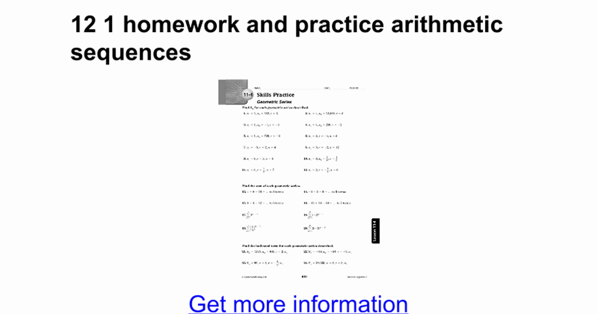 Arithmetic Sequence Worksheet with Answers Beautiful Dentrodabiblia Arithmetic Sequences Worksheet Answers