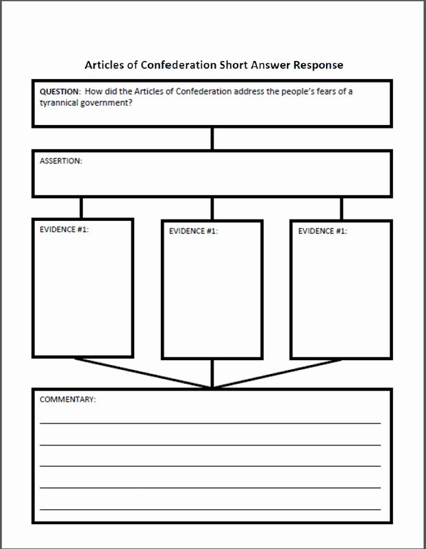 Articles Of Confederation Worksheet Answers New Articles Confederation Worksheet