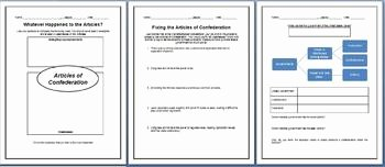 Articles Of Confederation Worksheet Answers Unique Articles Of Confederation Lesson Plan Strengths and