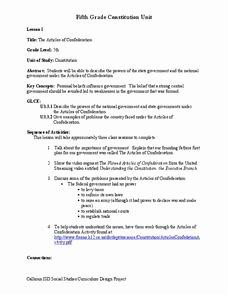 Articles Of Confederation Worksheet Inspirational the Articles Of Confederation Worksheet for 5th Grade