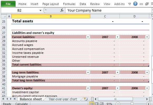 Assets and Liabilities Worksheet Lovely Download Editable Sample Balance Sheet for Excel