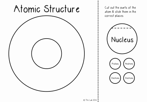 Atomic Structure Worksheet Pdf Beautiful atomic Structure Interactive Notebook Activities by