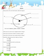 Atoms and Elements Worksheet Fresh 5th Grade Science Worksheets Pdf Printable