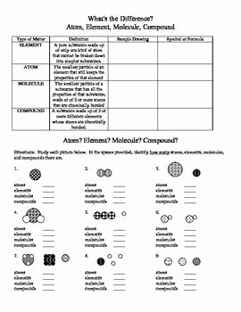 Atoms and Molecules Worksheet Fresh In This Exercise Students Identify the Properties Of Each